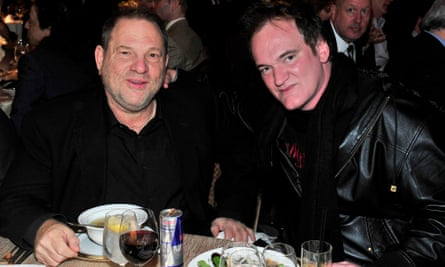 Producer Harvey Weinstein and Director Quentin Tarantino attend the 33rd annual Variety Home Entertainment Hall of Fame