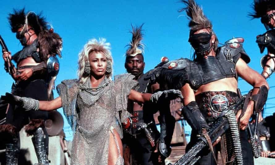 Tina Turner in Mad Max: Beyond Thunderdome.
