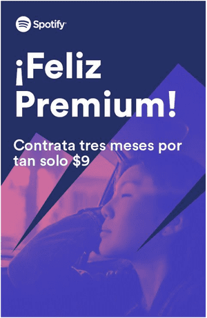 So I'm now signed up to the Mexican Spotify, among other random websites.