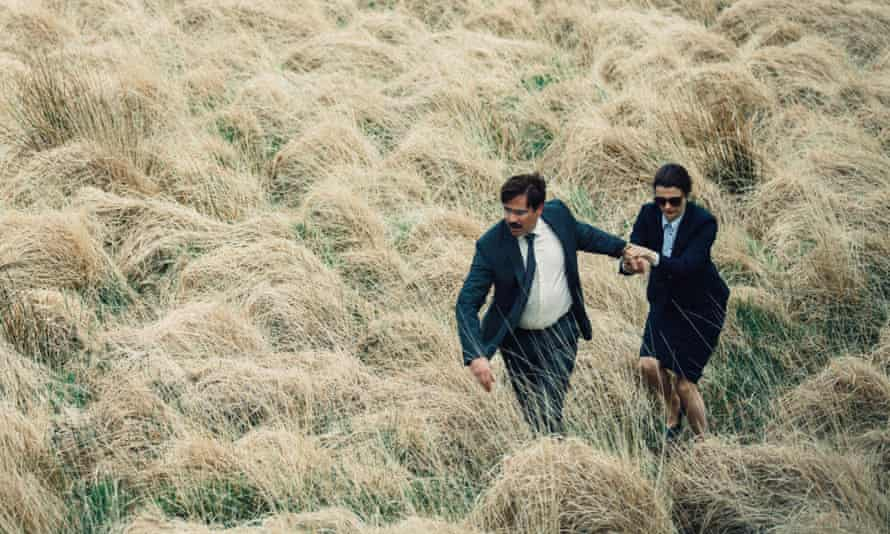 """Bizarre and hilarious"" ... Colin Farrell and Rachel Weisz in The Lobster."