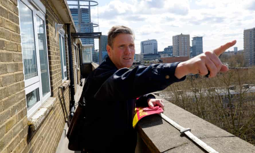 Labour activists are urging new MP Keir Starmer to stand as leader of the party.