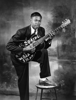 BB King in 1949