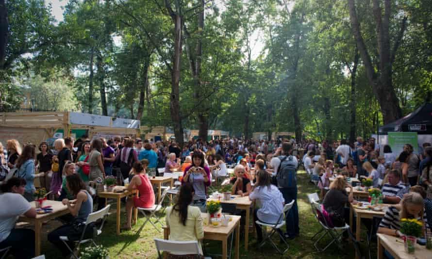 Gorky Park food festival