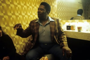 BB King backstage in 1978.
