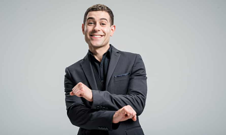 Lee Nelson, the stage persona of Simon Brodkin