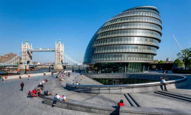City Hall (London Assembly Building) and The Tower Of London, London,