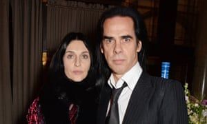 Susie Bick and Nick Cave at the Bafta's after-party