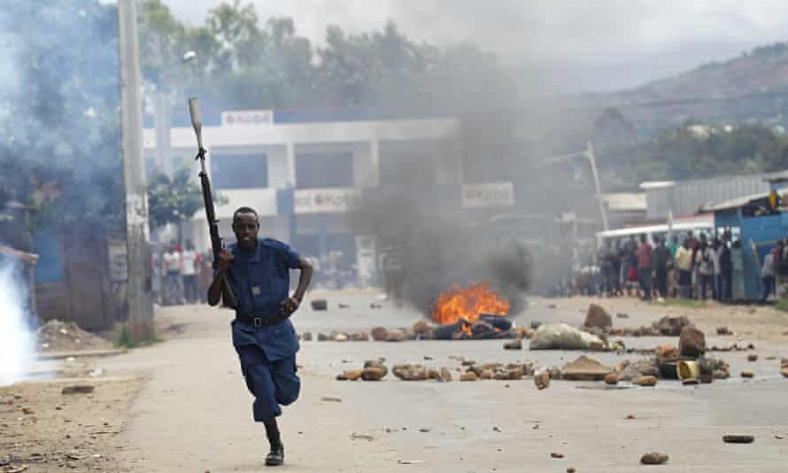 'Nkurunziza's insistence on trying to stay in office triggered weeks of demonstrations, which saw th