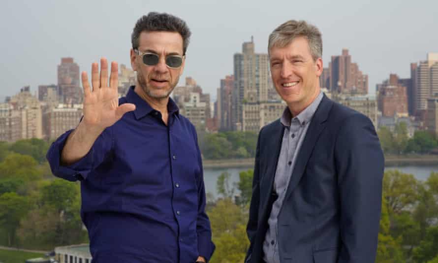 Freakonomics authors Stephen J Dubner (left) Steven D Levitt.