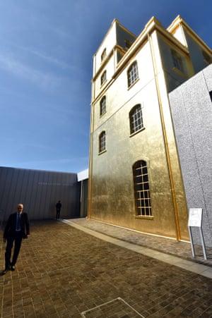 Fondazione Prada Prada Foundation, a newly opened art space in Milan