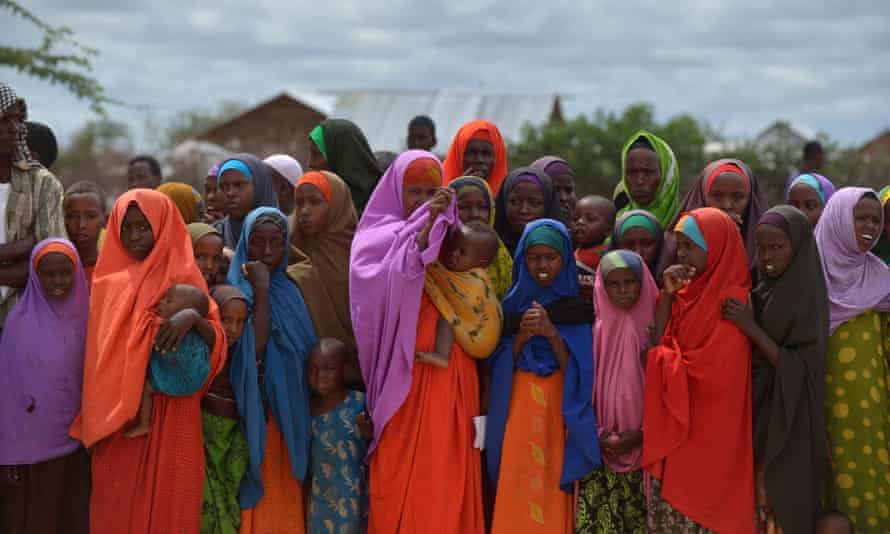 Half of the population of Dadaab refugee camp is under 18 … refugees at the camp, 8 May 2015.