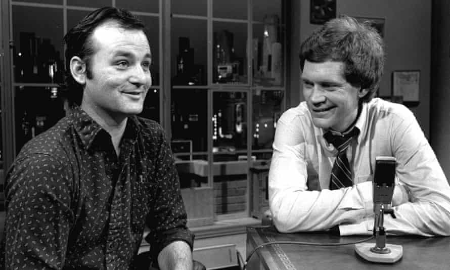 David Letterman and Bill Murray