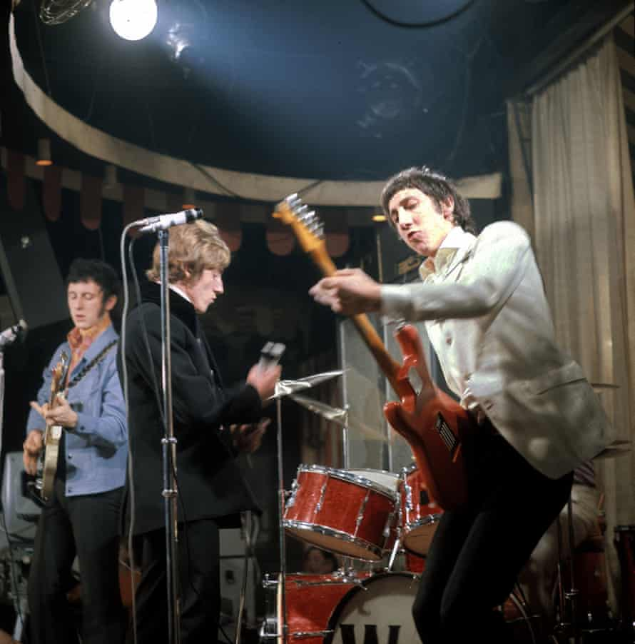 The Who on stage at the Marquee in 1967.