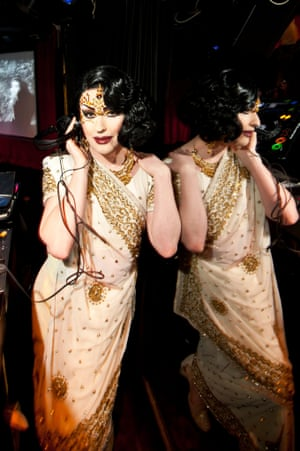 The Very Miss Dusty O at her Trannyshack night.