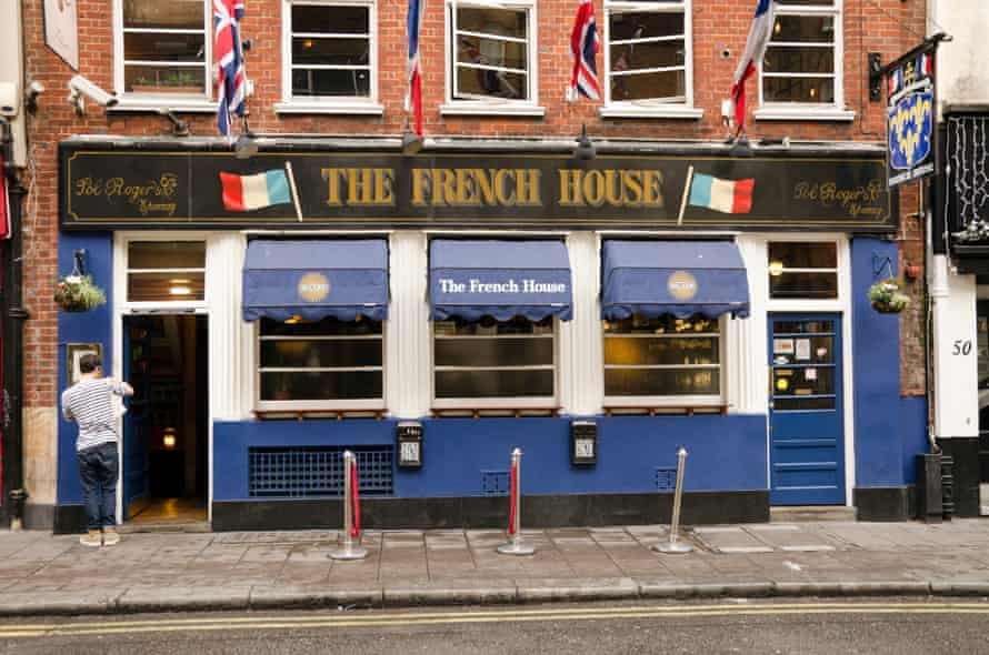 The French House on Dean Street.