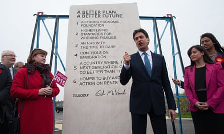 Ed Miliband, stone
