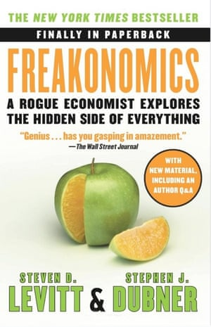 The first Freakonomics book, from 2005