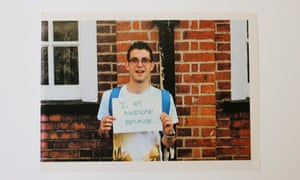 i am awesome because postcard