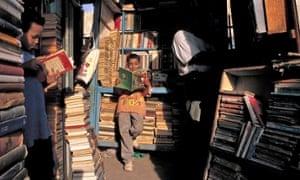 Books market in Cairo