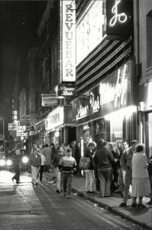 Brewer Street, 1988.