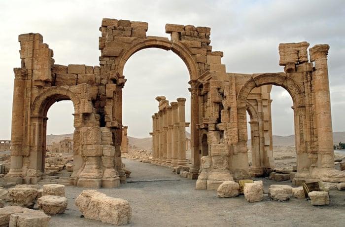 Hadrian's Gate, Palmyra
