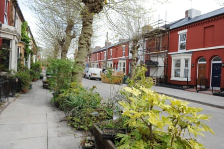 Cairns Street in Toxteth, which Assemble have helped to transform after decades of 'managed decline'.