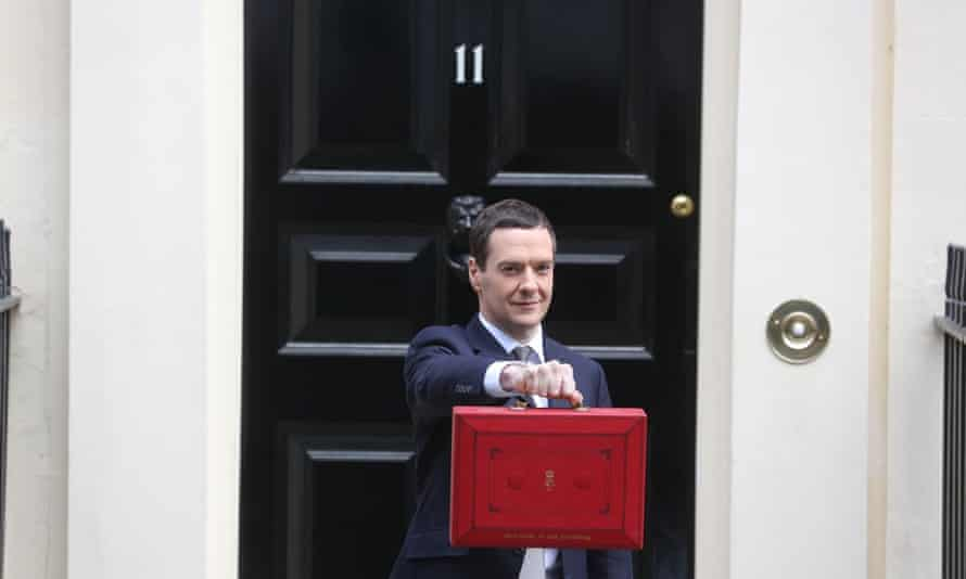 George Osborne budget case