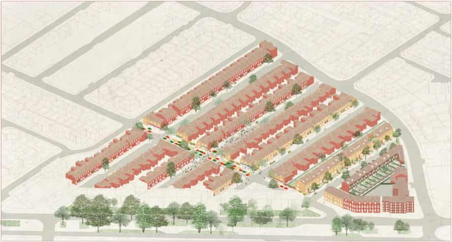 Plans for Assemble's renovation of the Granby Four Streets area of Toxteth in Liverpool.
