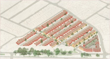 Plans for Assemble's renovation ofthe Granby Four Streets area of Toxteth inLiverpool.