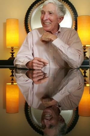John Updike in 2006.