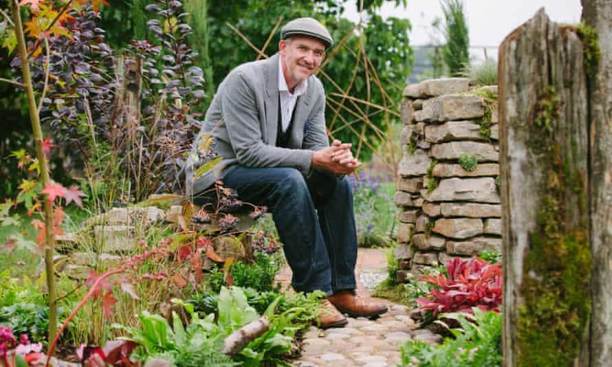 Sean Murray, winner of the Great Chelsea Garden Challenge.