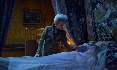Hair today…The Gentleman (Marc Warren) and Lady Pole (Alice Englert)