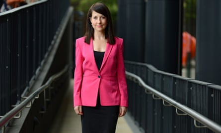 Liz Kendall, Labour leadership candidate and MP for Leicester West.