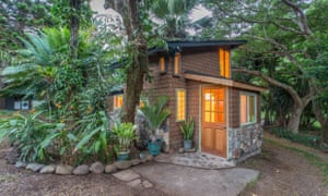 Chill out in Jimi Hendrix's 'gingerbread house' in Hawaii.