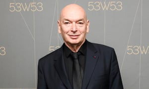 Jean Nouvel at the launch for 53W53 in New York.