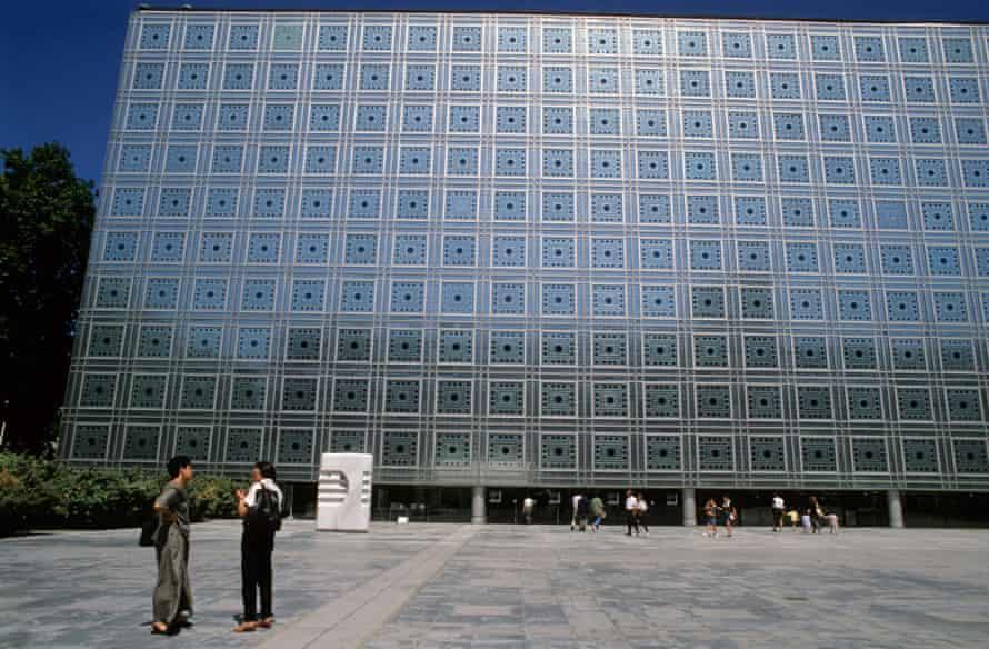 The Ima Institut Du Monde Arabe Building in Paris.