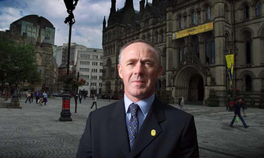 Sir Richard Leese, leader of Manchester council
