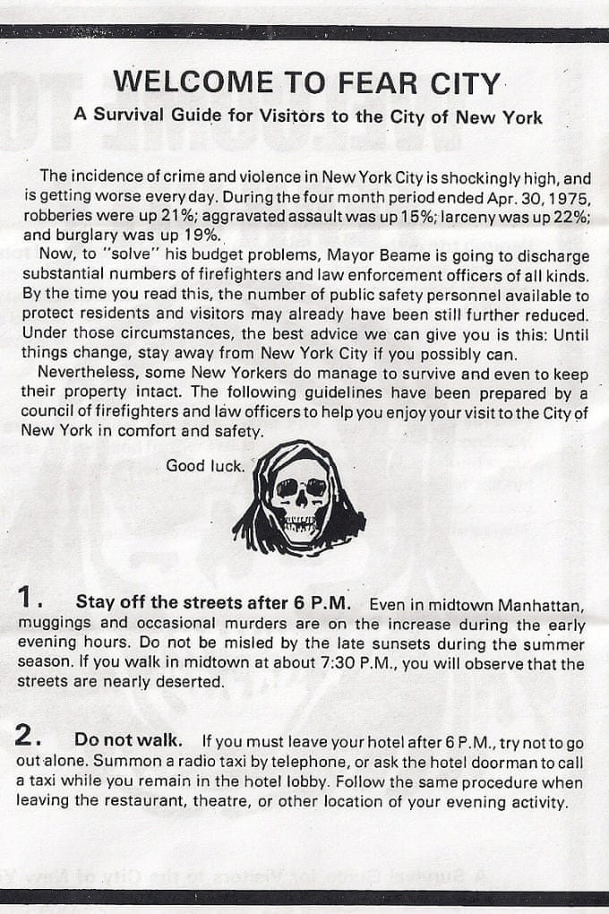 Welcome To Fear City The Inside Story Of New Yorks Civil War 40
