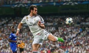 Gareth Bale of Real Madrid during the Champions League match against Juventus at the Bernabéu