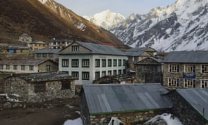 Langtang village before the second Nepal earthquake hit.