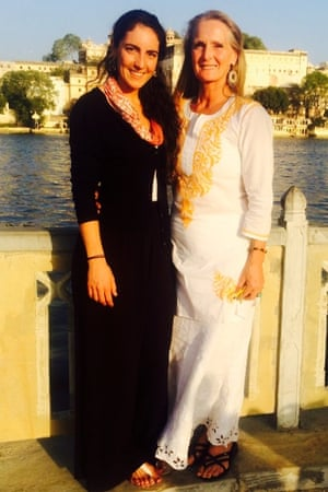 Yasmine Habash with her mother Dawn.