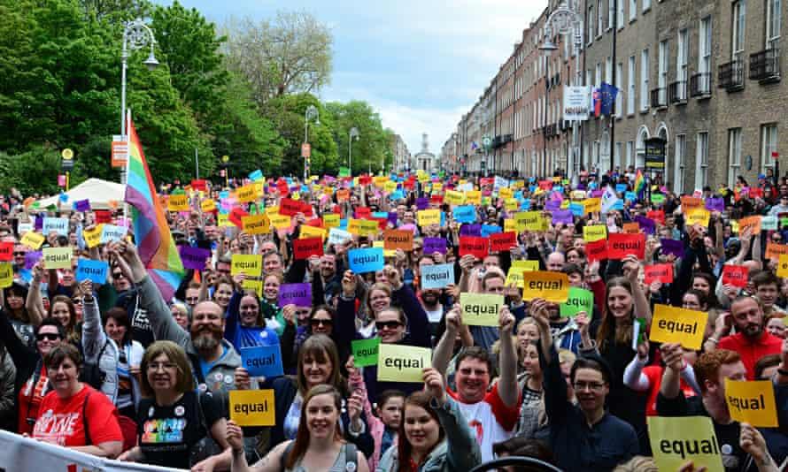 Yes rally in Dublin.