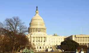US Capitol Building, Washington DC, where the latest climate hearing theatrics were held.
