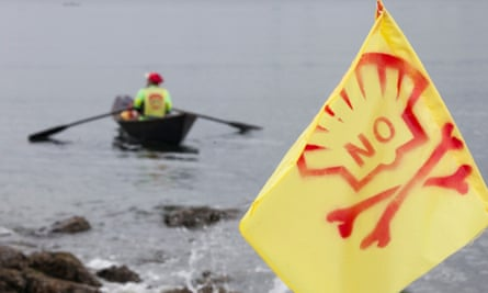 royal dutch shell seattle protest