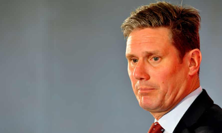 Keir Starmer was elected to Holborn and St Pancras on an increased Labour majority on 7 May.