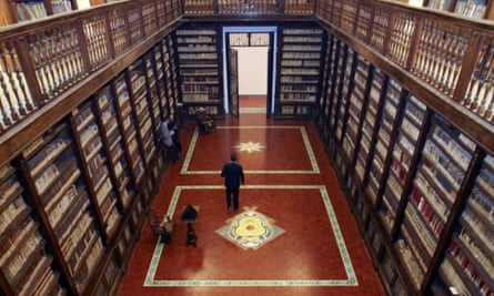 The 16th-century Girolamini library in Naples lost thousands of volumes in a theft orchestrated by its own director.