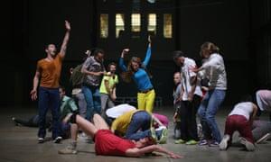 Art of dance … a dress rehearsal for Musée de la Danse, Tate Modern, London.