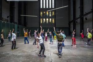 Rehearsal for Musée de la Danse.