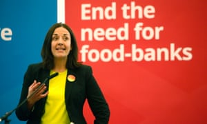 Kezia Dugdale in the runup to the general election.