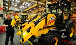 JCB boss says that EU red tape is stifling UK businesses.